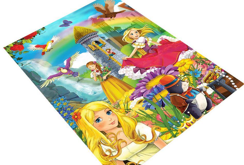 prensesler diyarı çocuk odası halısı 2016