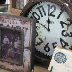 vintage stili dekoratif duvar saati modeli