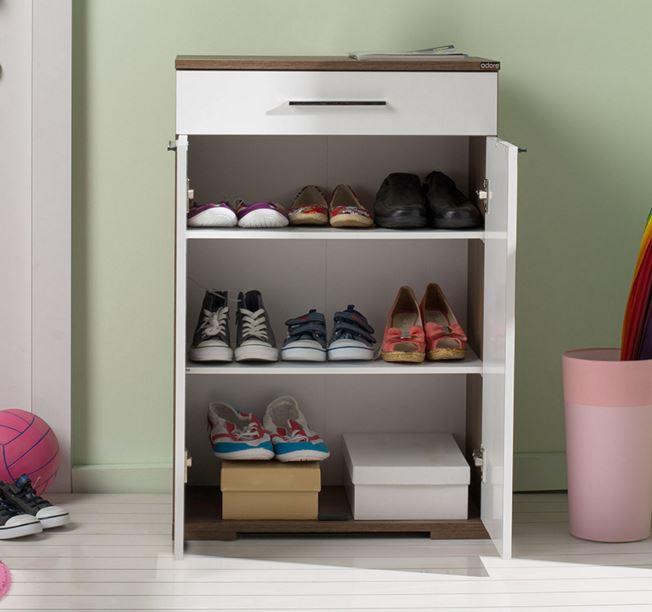 2 kapaklı çok raflı adore ayakkabılık fiyatı 189