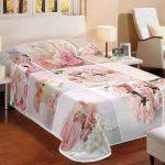 3d gul desenli kışlık battaniye 124