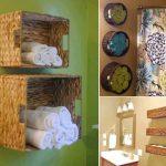 banyo havlu sepeti dekorasyon fikirleri 2016