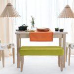dekoratif banklı mutfak masa takımı 2016