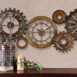 duvar dekorasyonu ve dekoratif saatler