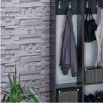 gri taş desenli duvar kağıdı modelleri 2016