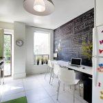 kara tahta mutfak dekorasyon fikirleri 2016