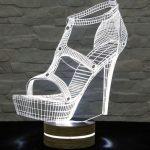 led masa lambası topuklu ayakkabı 2016