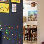 mıknatıslı kara tahta duvar uygulaması 2016