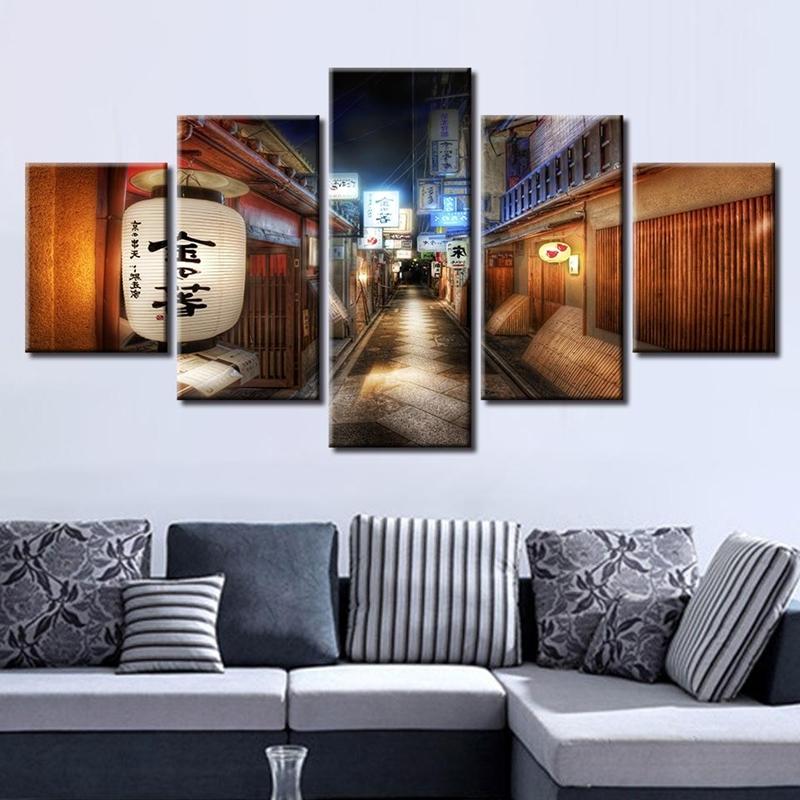 galeri tarzı duvar dekorasyon fikirleri