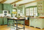 Doğal ve Zarif Vintage Mutfak Dekorasyonu 2019