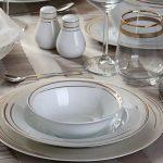 Day Light 86 Parça Premium Porselen Yemek Takımı