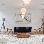 dekoratif ahşap tripod lambader 2016