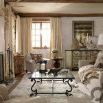 doğal ve sıcak ahşap oturma odası dekorasyonu