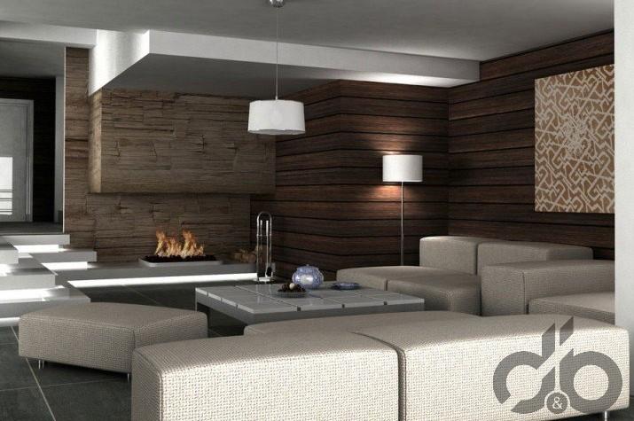 doğallığı yansıtan wooden dekorasyon örneği