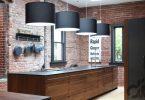eskitilmiş tuğla kaplama mutfak dekorasyonu 2016