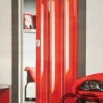 kırmızı akordiyon kapı fiyatı 109,90 Tl