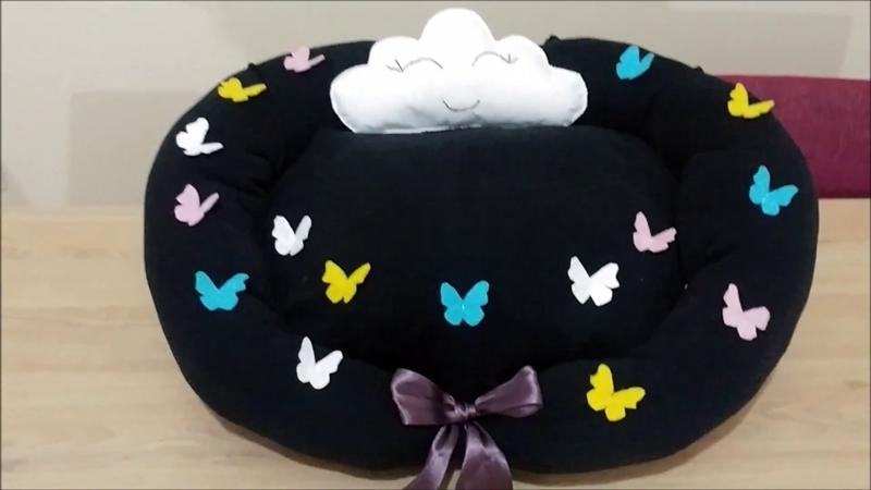 Kedi Yatağı Yapımı