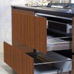 mutfak çekmeceleri için doğal görünümlü folyo modelleri