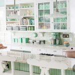 mutfakta mint yeşili kullanımı