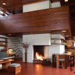 sıcak ve zarif wooden ev dekorasyonu