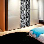 yatak odası gardırop için desenli yapışkanlı folyolar