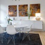 dekoratif eames sandalyeler