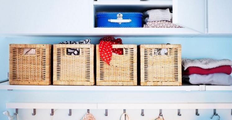 dekoratif kutu ve sepetler