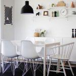 iskandinav stili yemek odası dekorasyonu