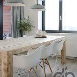 iskandinav tarzı yemek odası