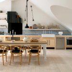 klasik iskandinav tarzı mutfak