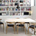 modern iskandinav tarzı yemek odası dekorasyonu