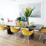 sarı metal ayaklı eames sandalye modelleri 2016