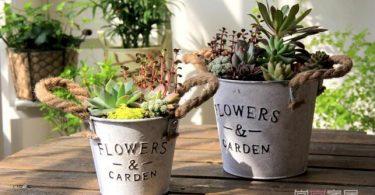 2016 dekoratif bahçe saksı modelleri