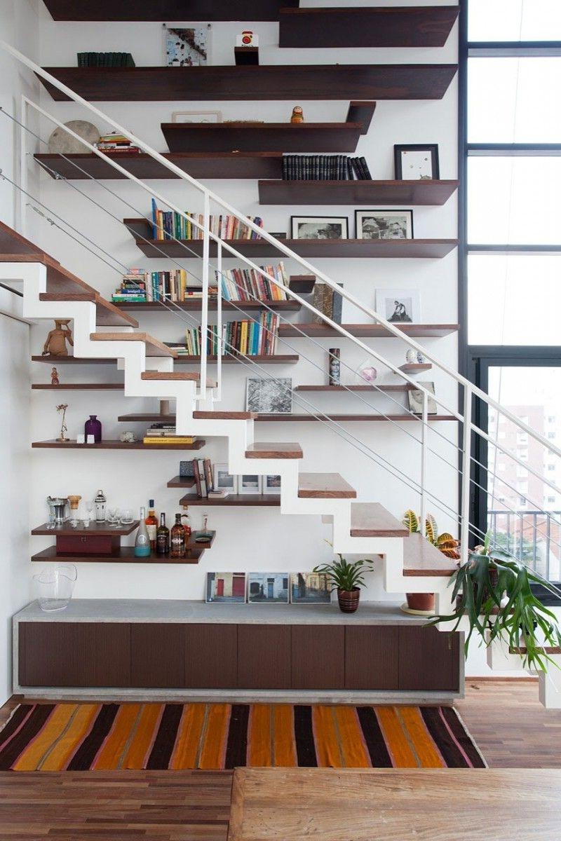Eski merdivenden dekorasyon fikirleri
