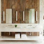 ahşap kaplama banyo duvarları