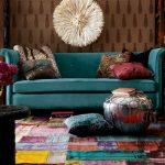 dekoratif patchwork halılar