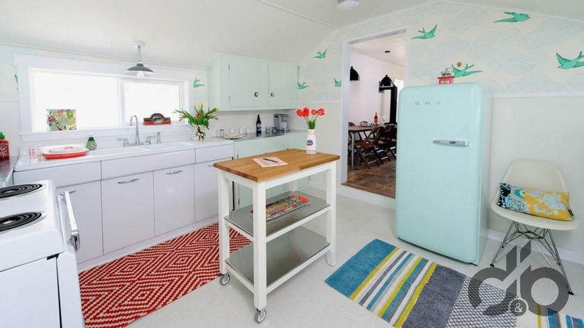 desenli mutfak halı modelleri