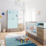 Newjoy Blue Birdy  bebek odası takımı 2
