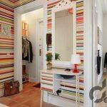 renkli çizgili duvar kağıtları