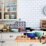 vintage tarzı mutfak dekorasyonu