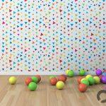 çocuklar için rengarenk duvar kağıtları