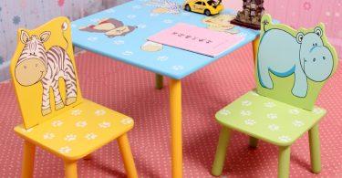 çocuklar için sevimli masa sandalye takımları 2019