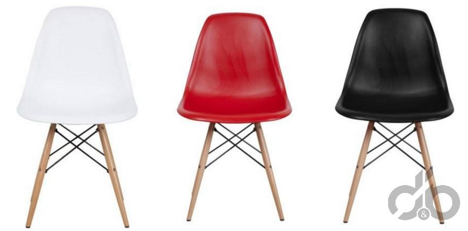 dekoratif eames sandalyeler 199,99 TL