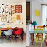 dekoratif sandalyeler ile evinizde bahar havası