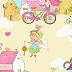 eğlenceli çocuk odası duvar kağıtları 2016
