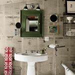 gazete baskılı duvar kağıdı modeli