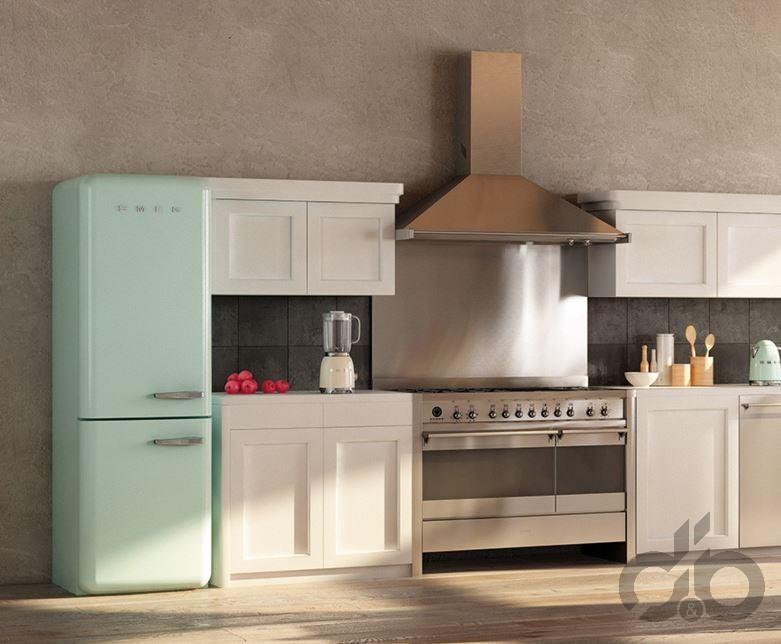 pastel yeşil smeg retro buzdolabı 8.899,99 TL