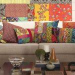 rengarenk dekoratif yastıklar