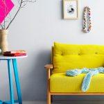 sarı koltuk ve kanepeler
