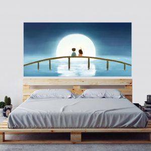 Yatak Başı Dekorasyon