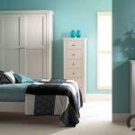 yatak odası için turkuaz duvar rengi